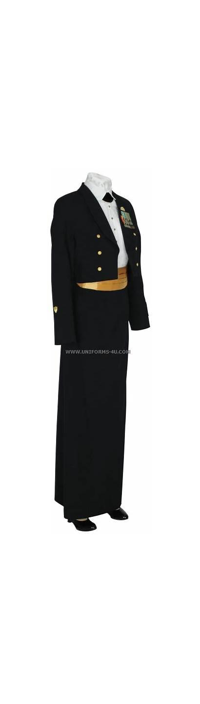 Guard Coast Female Uniform Enlisted Cpo Dinner