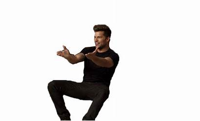 Spanish Ricky Martin Glee Teacher Reacciones