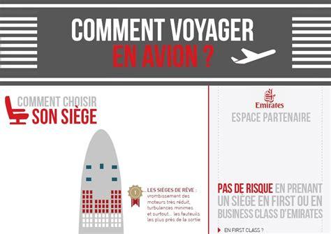 choisir siege avion infographie conseils et astuces comment voyager en avion