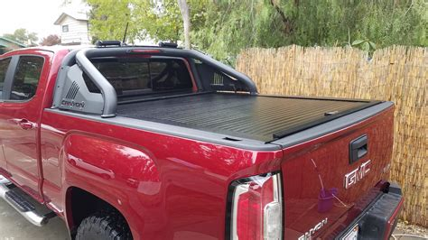 Chevrolet Colorado Tonneau Cover by American Roll Tonneau Cover With Sportsbar Chevy