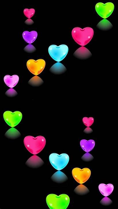 Rainbow Heart Hearts Happiness