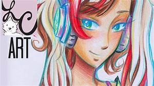 Crayola Colored Pencil Piper (Sketch & Coloring) - YouTube
