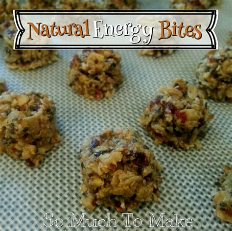 natural energy bites