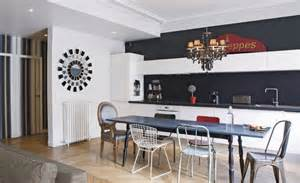 deco maison cuisine ouverte cuisine en image