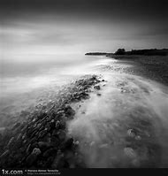 Simple Black and White Landscape Photography