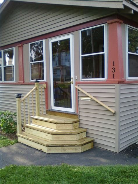 pictures of front steps to house new front steps by pirateofcatan lumberjocks com woodworking community