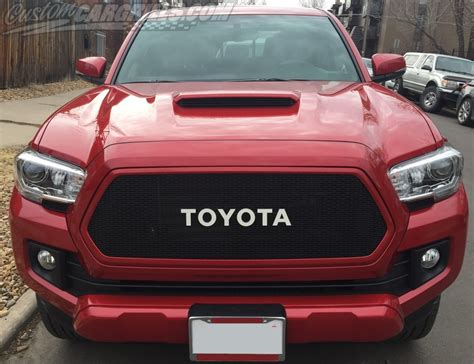 Custom Mesh Grills For Toyota Vehicles By Customcargrillscom