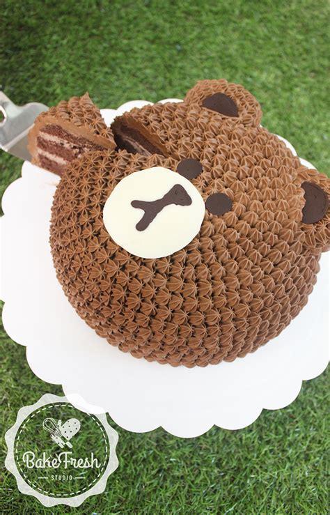 bear cake decoration bakefresh