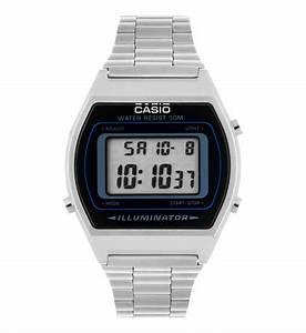 Montre Vintage Casio : montre casio retro b640wd 1avef casio en acier et noir galeries lafayette ~ Maxctalentgroup.com Avis de Voitures