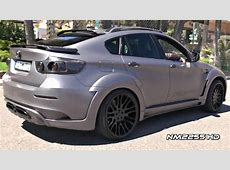 Hamann BMW X6M Tycoon EVO Full Accelerations and Revs