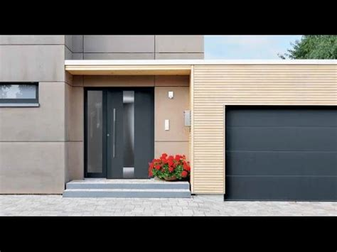 hormann aluminium front entrance doors youtube