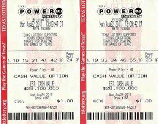 texas powerball lottery results powerball