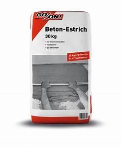 Beton Estrich Berechnen : go on beton estrich 30 kg sack ~ Watch28wear.com Haus und Dekorationen