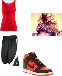 U0026quot;Basketball outfitu0026quot; by ayee-mahomie-for-lifee on Polyvore   Polyvore   Pinterest   Basketball ...