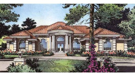 mediterranean style house plan beds baths sqft plan tuscan house plans