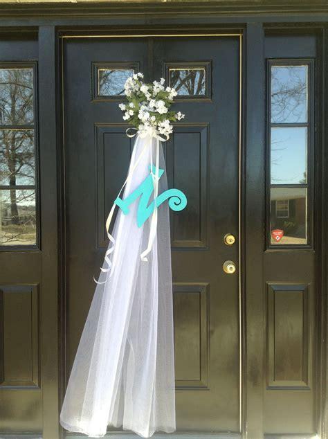 Front Door Decoration For Bridal Shower