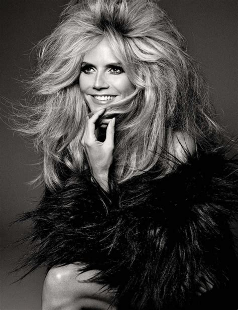 Heidi Klum Sizzles In Big Hair Lensed By Francesco