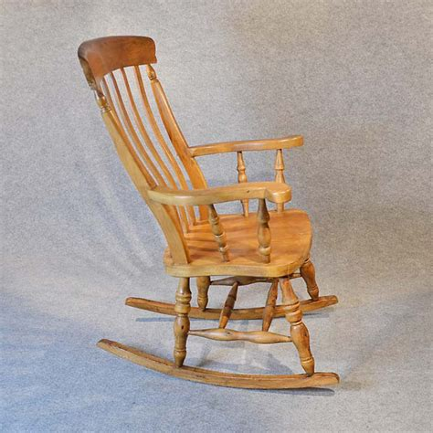 rocking high back chair country rocker antiques