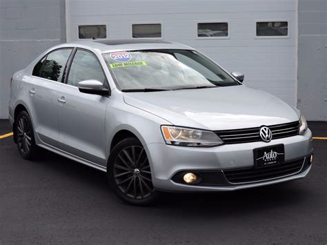 2012 Volkswagen Jetta Sel by Used 2012 Volkswagen Jetta Sel Wsunroof Pzev At Auto House