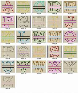 Split applique machine embroidery alphabet for Embroidery prices per letter