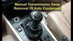 Removing The Automatic Transmission  U0026 Stuff  Volvo 850