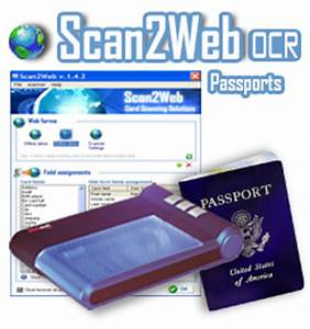 passport reader into web applications With ocr demo scan document and automatically retrieves data into database