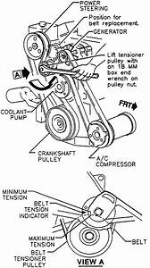 1995 Oldsmobile 88 Serpentine Belt Diagram   There Is No