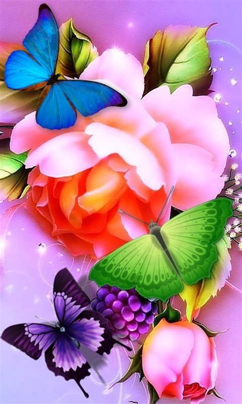 Animated Flower Wallpapers For Mobile - animated beautiful flowers wallpapers for mobile