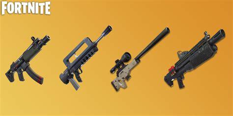 popular weapons   added   fortnite vault