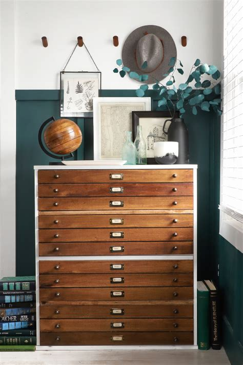 Temporary Drawers by 187 Diy Home Faux Map Drawer Dresser