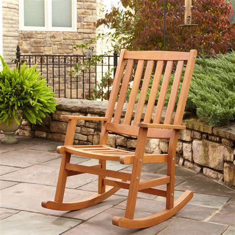 fixing up an outdoor rocking chair drew home