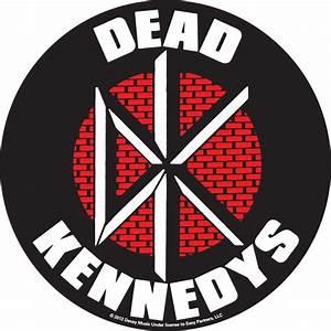 Dead Kennedys Brick Logo Sticker