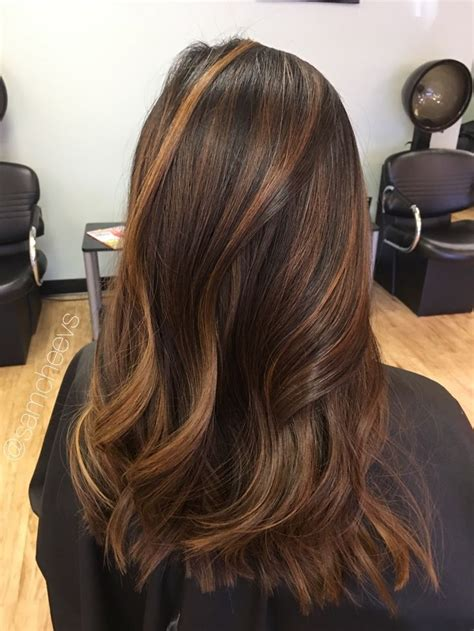 Brown And Black Hair by Best 25 Hair Highlights Ideas On Fall