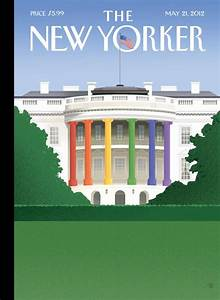 'Spectrum Of Light' - Bob Staake Cover for The New Yorker ...