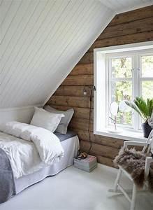 Décoration Chambre Scandinave : rev tement mural bois nos id es tendance pour la d co chambre moderne ~ Melissatoandfro.com Idées de Décoration