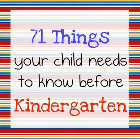 before kindergarten kindergarten and children on pinterest