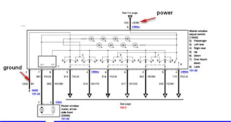 2005 Ford Explorer Wiring Schematic by My Power Windows Quit Working In My 2005 Ford Explorer Xlt