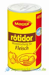 Maggi Würzmischung 4 : maggi rotidor fleisch w rzmischung universal infos ~ Lizthompson.info Haus und Dekorationen