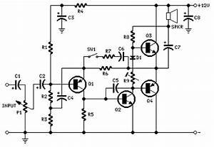 2 Watt Amplifier Circuit Archives