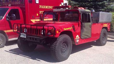Hummer forestry fire truck unit Humvee HMMWV H1 ...