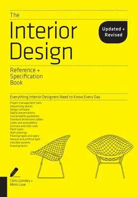interior design reference specification book updated