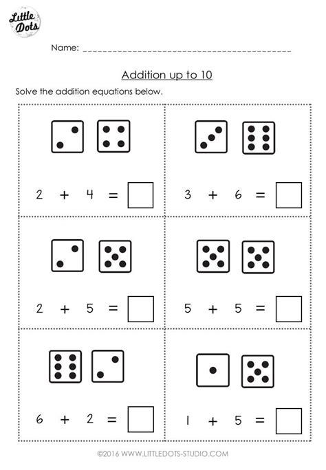 worksheets pdf addition and subtraction kindergarten