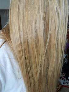 long blonde hair with platinum and blonde highlights with ...