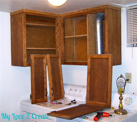 Bathroom Cabinet Makeover by Laundry Bathroom Cabinet Makeover My 2 Create