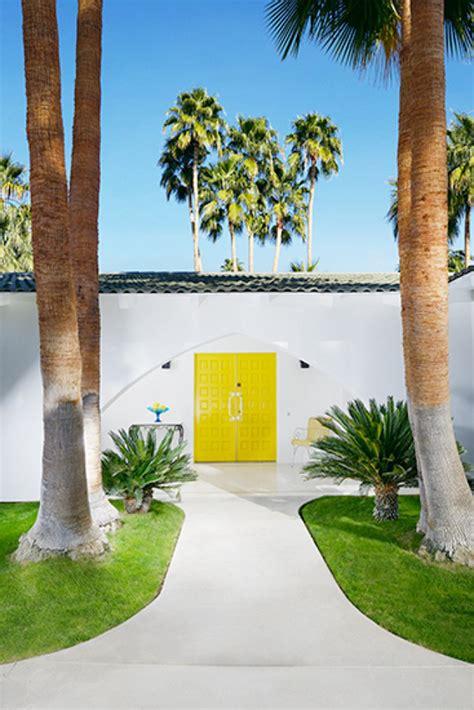 Door Springs Yellow by Those Palm Springs Doors My Style Vita
