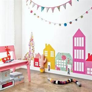 Babyzimmer Wände Gestalten : die besten 25 bunte tapeten ideen auf pinterest regenbogenfarben blumenstoff und ~ Sanjose-hotels-ca.com Haus und Dekorationen