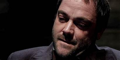 Crowley Supernatural Choke They Attached Imagine Where