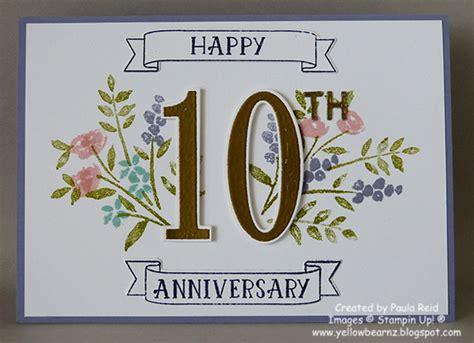 10th wedding anniversary yellowbear stin happy 10th wedding anniversary