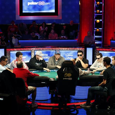 wsop  main event results  prize money payouts