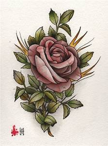 Chinese rose drawing tattoo | Best Tattoo Ideas Gallery